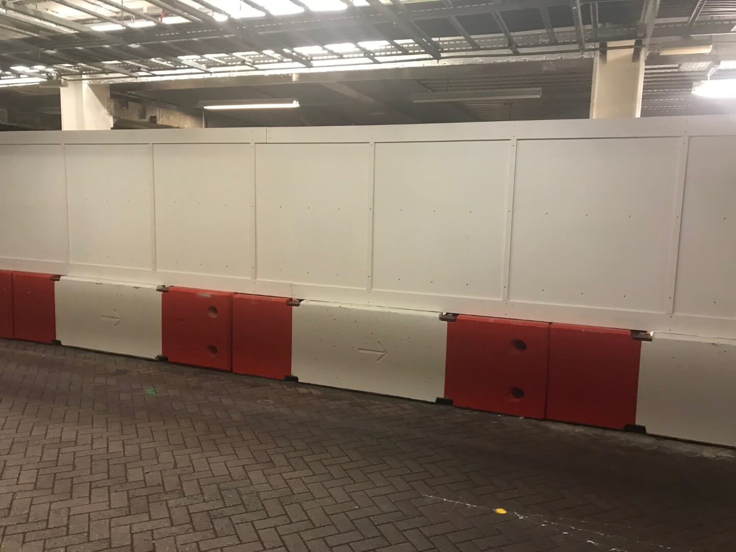 Hoarding used at Airport