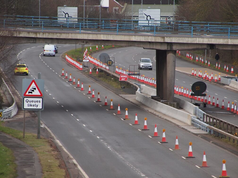 M74 Highway project