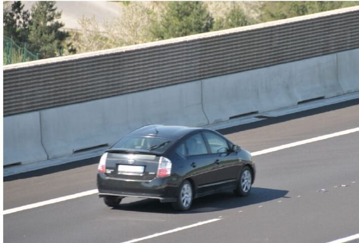 Noise Barrier on highway